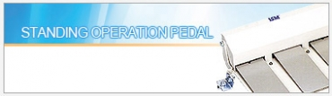 STANDING OPERATION PEDAL